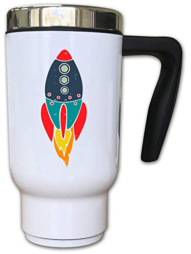 Iprints Cosmic Travel Space Exploration Minimalistic Rok Thermal Thee Coffee Mok