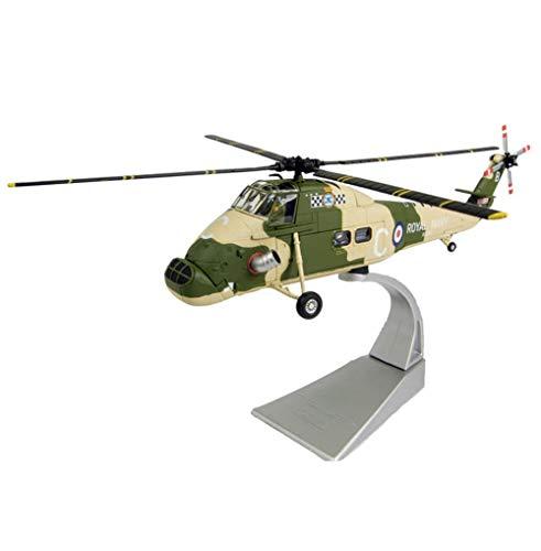 EP-Toy 1/72 Scala Militare Britannica Wessex Elicottero Modello della Lega, Regalo per Adulti E Oggetti da Collezione, 10.8Inch X 10.8Inch