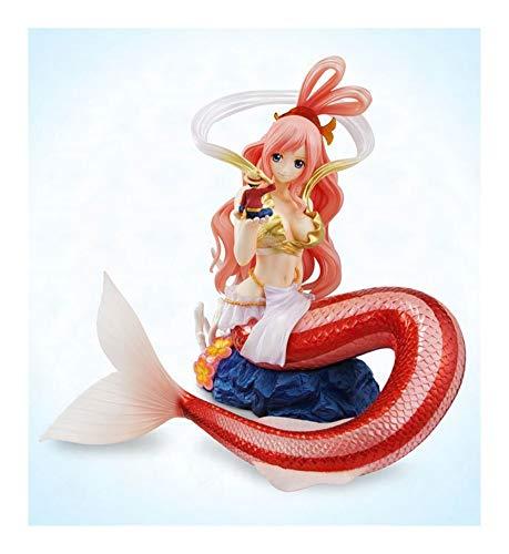Jaypar One Piece Figur Shirahoshi Mit Luffy Abbildung Anime-Mädchen Abbildung Action-Figur