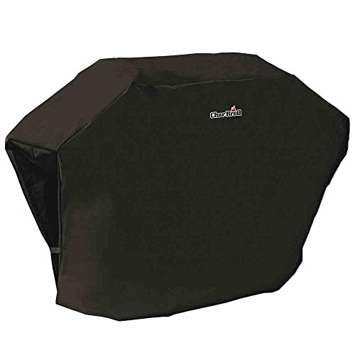 Char-Broil 140 565 - 3 & 4 Burner Gas Barbecue Grill Cover, Black.