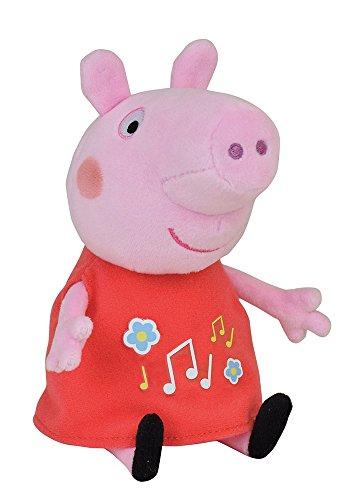 Jemini 023167 Peppa Pig - Peluche Musical (+/- 20 cm)