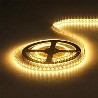 車ライトランプ5M 3528 SMD LEDフレキシブルストリップライト非防水カー内部LED装飾 (Size:Free Size; Color:Warm White)
