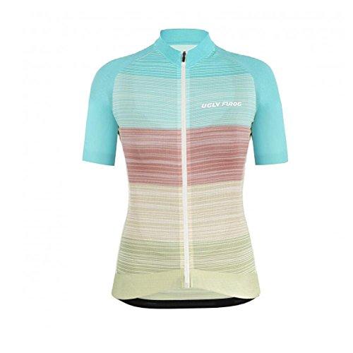 Uglyfrog Cycling Damen Sport Radfahren T-Shirt Radsport Trikot Shirt Rad Jersey