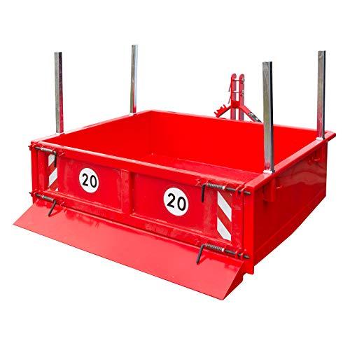 DEMA Heckcontainer hydraulisch 125x150x40 cm