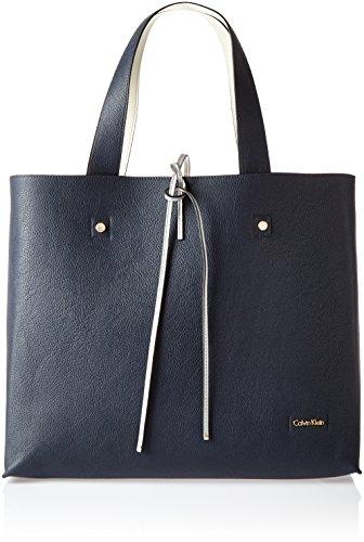 Calvin Klein STEF Reversible Tote, Bolsa para Mujer, Azul (Ombre Blue) 18x34x29...