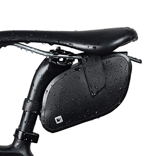 WENYOG Bolsa Sillin Bici Silla de Montar a Prueba de Lluvia Ciclismo Bolsa a Prueba de Golpes de Bicicletas Bolsa Refletive Trasero Grande capatity Tija de sillín MTB Bolsa de Accesorios 2