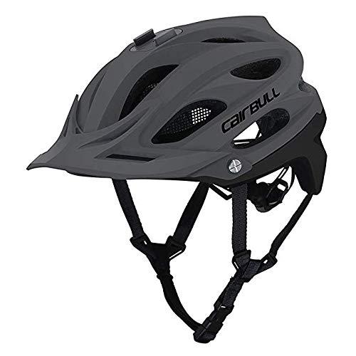 Heemtle Bike Fahrrad Helm, Cairbull AllSet Radfahren MTB Fahrrad Safe in-Mold Helm mit Kamerahalterung einstellbar 55-61cm (6 Farben optional)