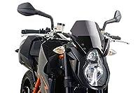 Puig 4942H NEW GENERATION 【SMOKE】 KTM 990SUPER DUKE(07-13) プーチ スクリーン カウル puig-4942h 4942h