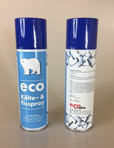 Eco Kälte- und Eisspray, 300ml bei Sportverletzungen, Insektenstiche