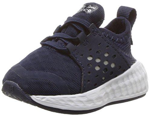 New Balance Unisex-Baby Cruz KVCRZV1I Kinder Schuhe, 24 EUR, Navy/White