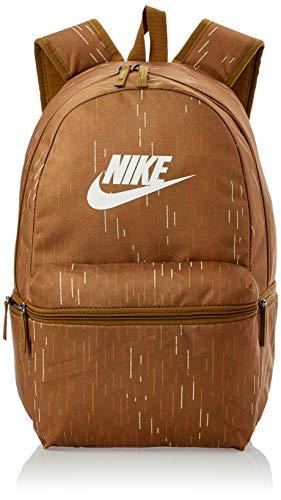 Nike Nk Heritage Bkpk - Aop Zaini Unisex Adulto, Multicolore (ALE BROWN/PALE IVORY), 24x36x45 cm (W x H L)