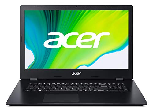 Acer Aspire 3 (A317-52-57VD) 43,9 cm (17,3 Zoll Full-HD IPS matt) Multimedia Laptop (Intel Core i5-1035G1, 8 GB RAM, 1000 GB PCIe SSD, Intel UHD , Win 10 Home) schwarz
