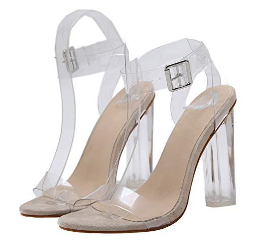 durchsichtige high heels zalando