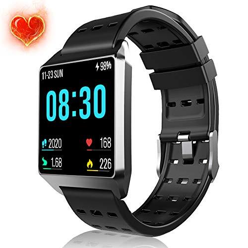 Smart Watch, Fitness Tracker Heart Rate...