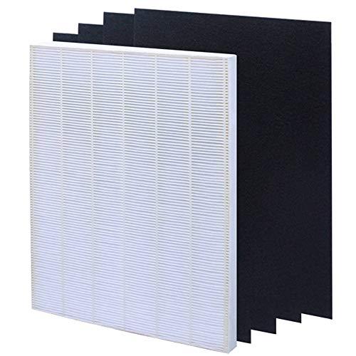 Hardware Accessories Luftreinigerfilter, Schwarze abnehmbare Aktivkohle-Luftfilterkombination, passend für 5300/6300 / 6300-2 / P300 / C535