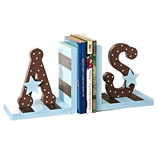 Buchstützen Nordische Bücherenden Arbeitszimmer Kreative Ornamente Ornamente Englisches Alphabet Buchstützen Kinderzimmerdekoration