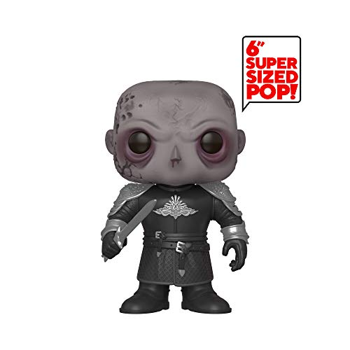 Funko- Pop TV: Game of Thrones-6' The Mountain (Unmasked) Collectible Figure, Multicolor, Estándar (45337)