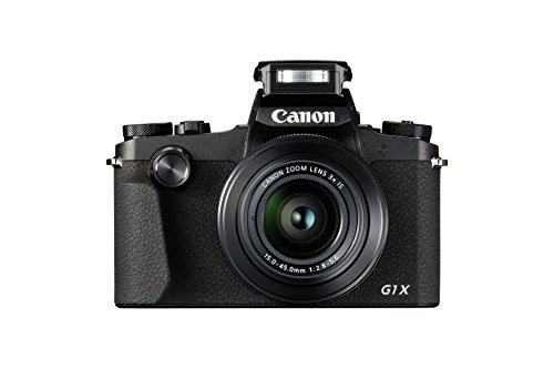 Canon Italia PowerShot G1X Mark III Fotocamera Compatta, Nero