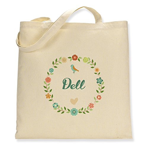 Floral Dell - Canvas Tote Bag