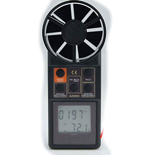 De alta precisión de vientos, la precisión de Split Anemómetro profesional de...