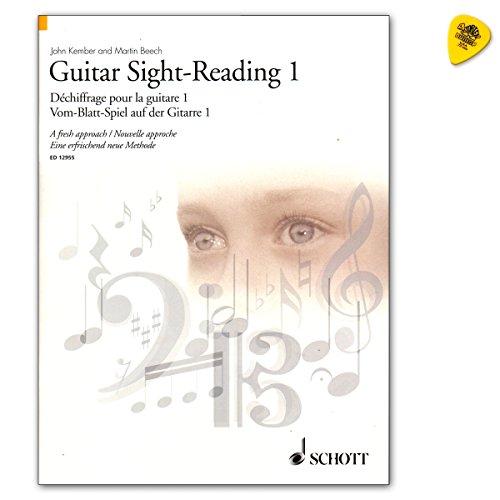 Guitar Sight-Reading 1 - Vom-Blatt-Spiel auf der Gitarre - Autor: John Kember - Lehrbuch mit Dunlop Plek