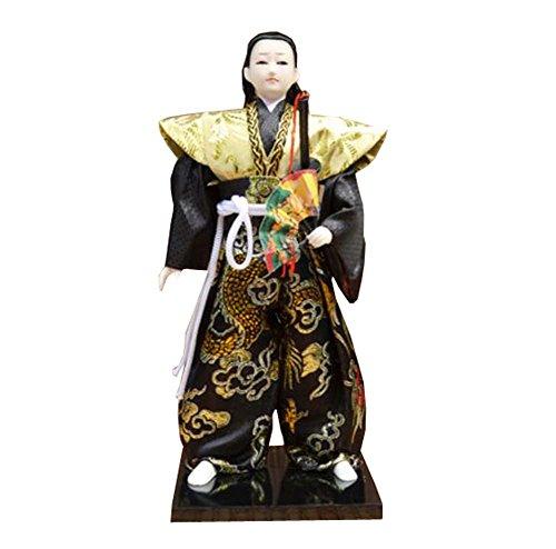 Black Temptation Bambole di Samurai in Stile Giapponese Lzakaya Restaurant Hotel Decor Ornaments Gifts - K