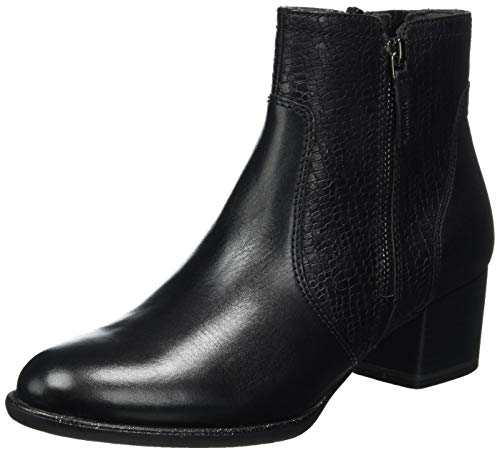 Tamaris Damen 1-1-25326-25 Stiefelette, schwarz, 38 EU