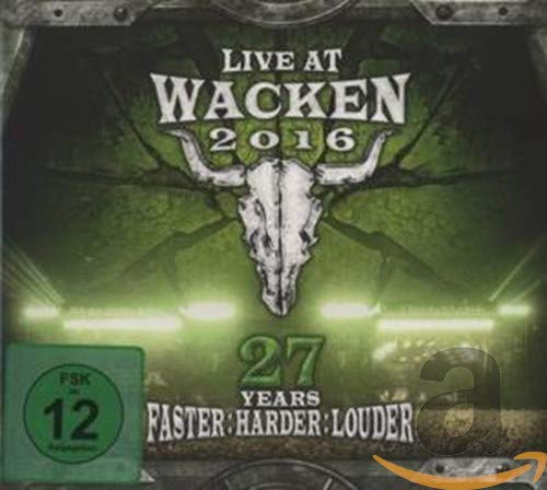Live at Wacken 2016 - 27 Years Faster: Harder [DVD]