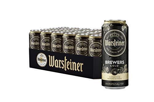WARSTEINER Brewers Gold Dose DPG Bierpaket Einweg (24 x 0.5 l)