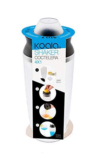 Koala Internacional Hosteleria Coctelera Koala 4 Funciones en 1, Sam Cristal