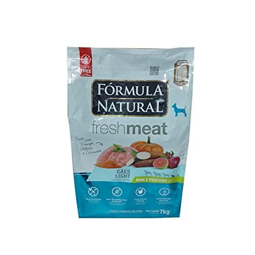 Ração Fórmula Natural FreshMeat Light para Cães de Pequeno Porte Sabor Frango 7kg