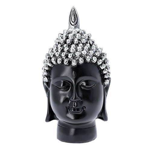 Shop LC Delivering Joy Christmas Home Gifts Decor Decorations Silver Buddha Head Statue Lord Buddha Statue Living Room Religious Idol Showpiece Figurine Table Spiritual Decor Gifts