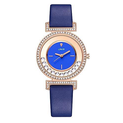 Relojes Para Mujer Relojes Exquisitas De Mujeres Minimalistas 2020 Nuevo Diseño De Diamante Simple Damas Reloj De Pulsera De Cuero Para Mujer Reloj De Regalos Casuales Para Mujer Relojes Decorativos C