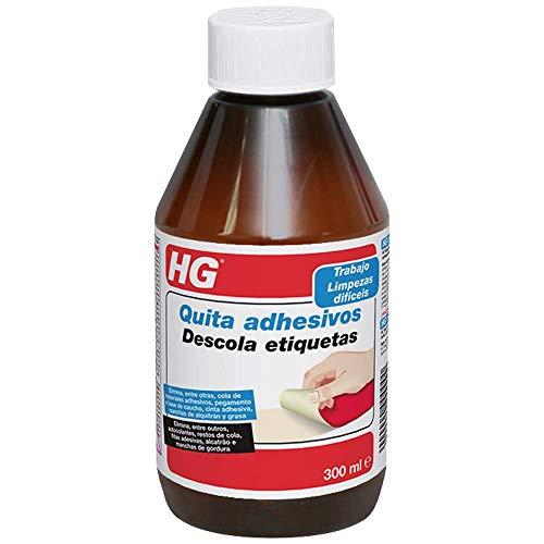 HG 160030130 300 ml-un Quita Adhesivos Extremadamente eficaz, Apto para Todo Tipo de Superficies
