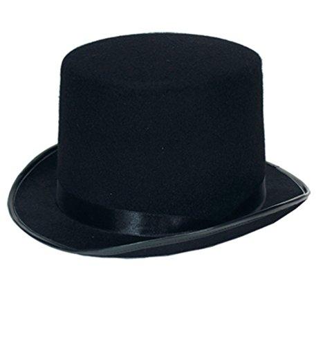 Chapeau amazone feutre noir