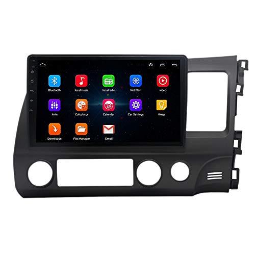 Sonline 10 Pulgadas 2 DIN Android 10.0 Car MP5 Player Radio 2 + 16GB WiFi NavegacióN GPS para 2004-2011 RHD