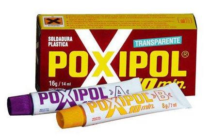 Poxipol - Pegamento 2 componentes 10 min