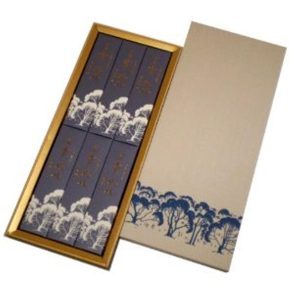 ネイティブからに変化する半円玉初堂 淡麗香樹林 短寸6箱入化粧紙箱