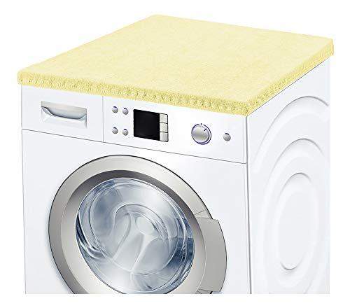 Ladeheid Waschmaschinenbezug Frotteebezug 50x60 cm (Beige)