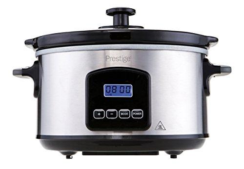 Prestige 46877 PRE-46877 Digital Slow Cooker, 3.5 liters, Black