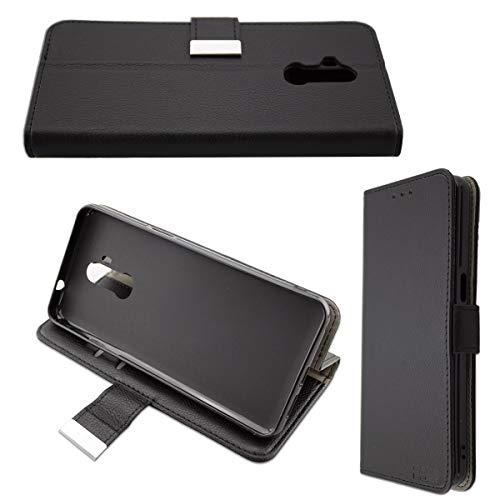 caseroxx Tasche für Ulefone P6000 Plus Bookstyle-Case in schwarz Cover Buch