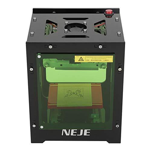 Stampante Laser Engraver, 1000mW 490x490 Pixel USB Mini Macchina per incisione, doppia presa USB, filtro acrilico con aspirazione magnetica, funzionamento con solo clic, non è necessario codice G