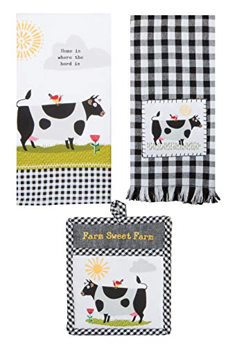 Top 10 Best Selling List for cow kitchen towels set