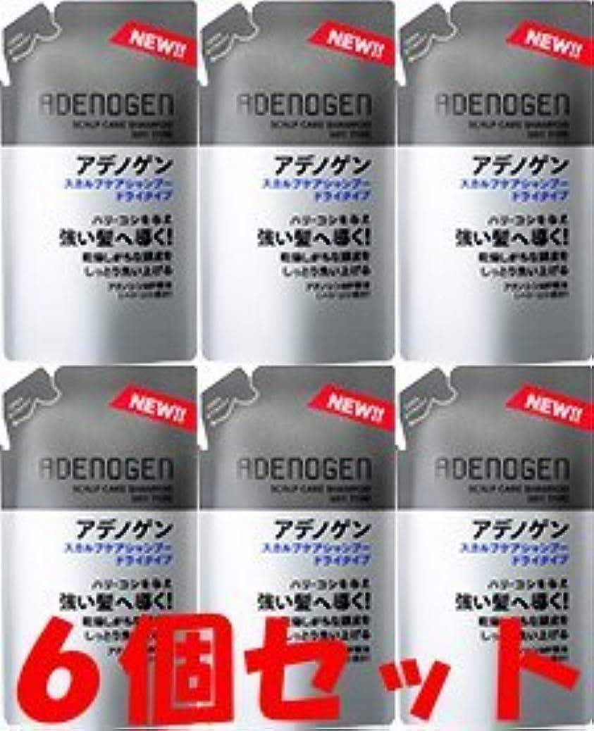 収穫一般的に爆風【つめ替6個】薬用アデノゲン スカルプケアシャンプー(ドライタイプ)310ml