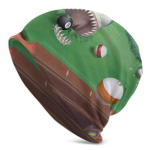 gong Hai in einem Billardtisch Unisex Beanie Skull Cap Stretchy Baggy Knit Hat