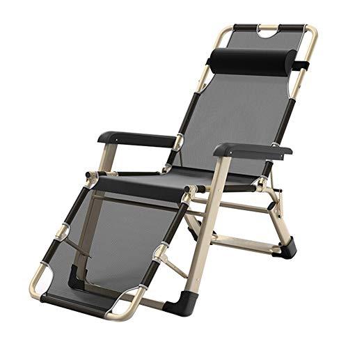 WJJ Gartenstuhl Klappstühle Deckchairs Klappstuhl Loungesessel Kann for Büroschlaf und Camping im Freien verwendet Werden