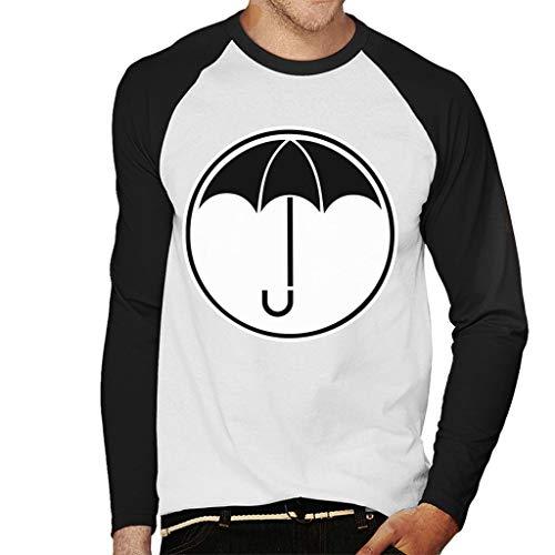 Cloud City 7 Umbrella Academy Logo Dark Men's Baseball Long Sleeved T-Shirt