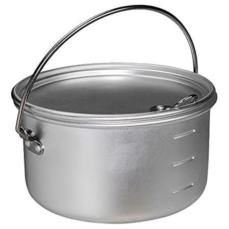 エバニュー Backcountry Almi Pot シルバー 122×67mm