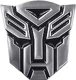 Metal Three-Dimensional Texture Pure Metal Car Sticker, Autobot Logo Car Sticker,Car General Metal Sticker