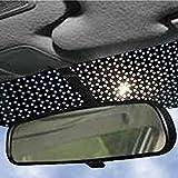 Big Ant Protector solar para coche, pegatinas estáticas para parabrisas delantero y trasero, tiras para bloquear el deslumbramiento, el calor dañino y los rayos UV (2 unidades)